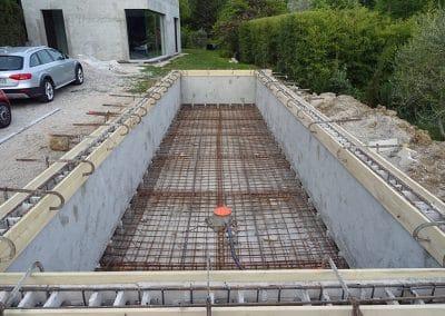 Structure piscine